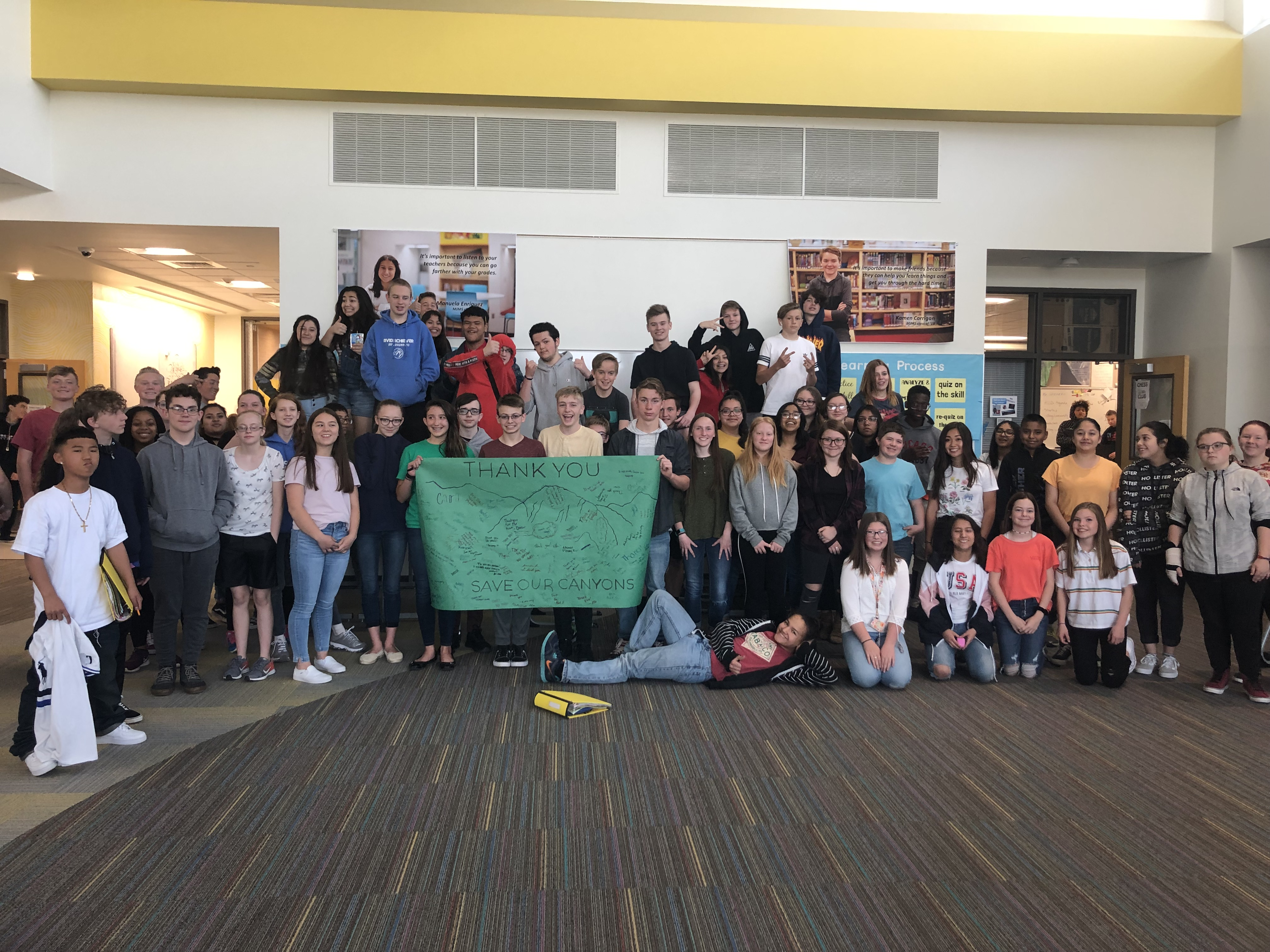 dipendente Mese Apparentemente  Save Our Canyons - SOCKids: Mount Jordan Middle School