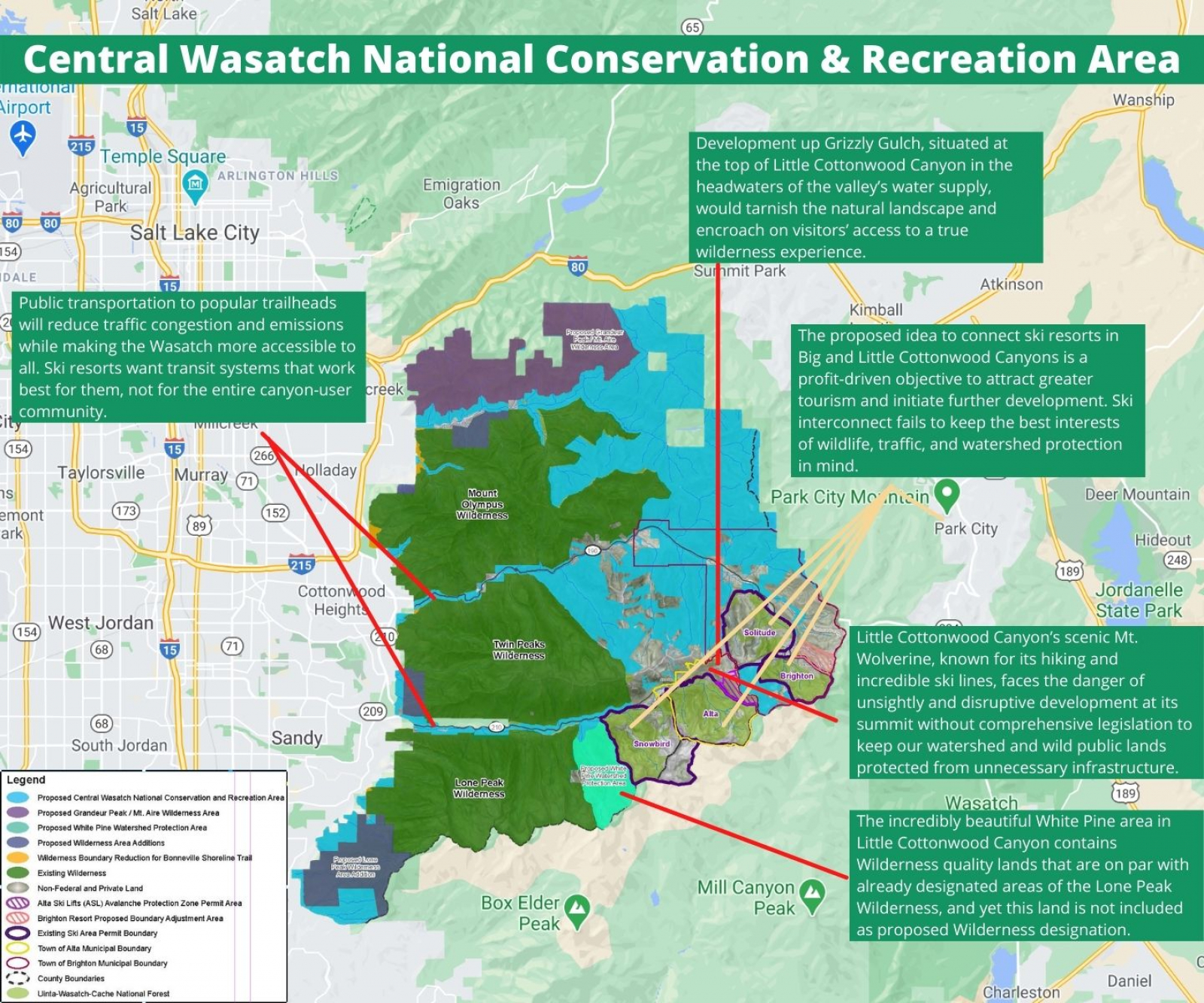 Central Wasatch Story Map